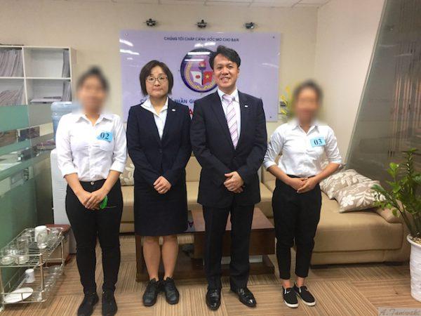 観光ではありません。外国人技能実習生採用のためベトナムへ。
